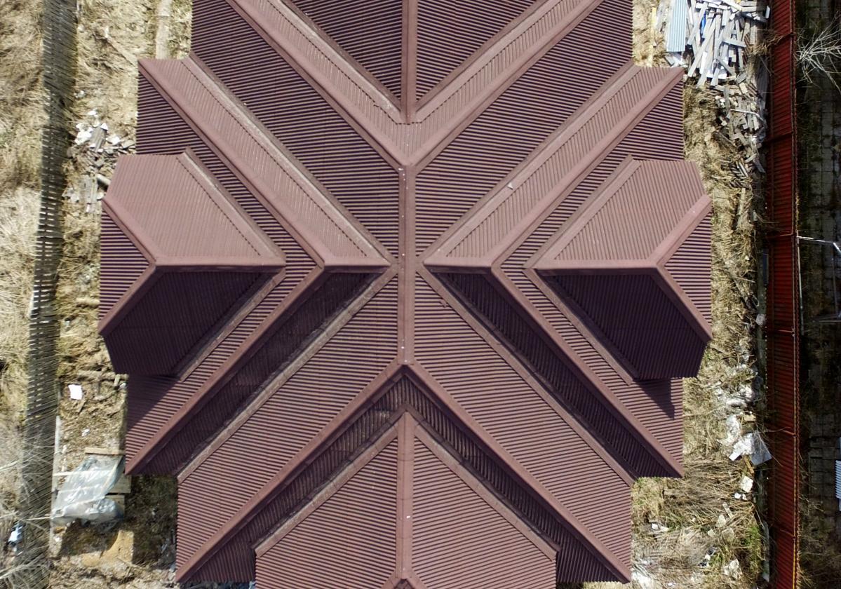 Pokrycie dachowe ONDULINE CLASSIC czerwone