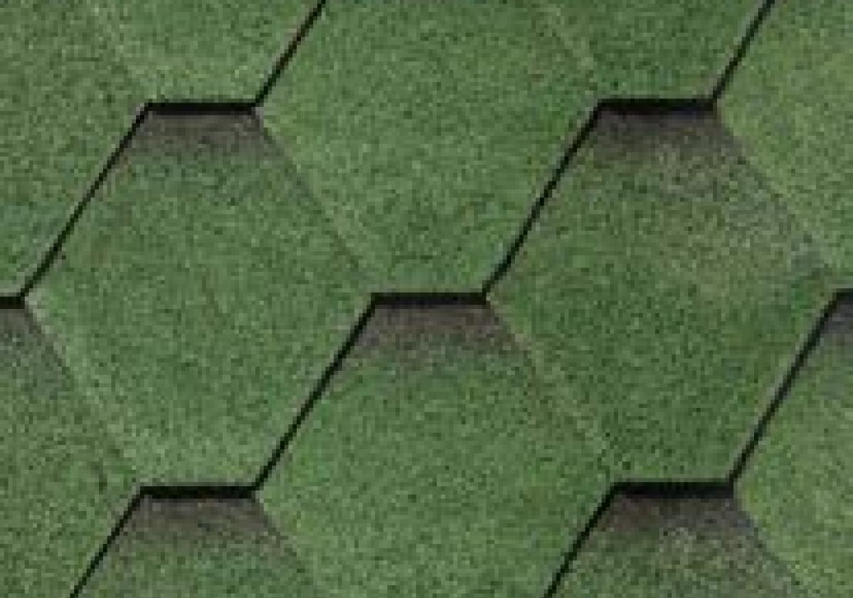 zielone haksagonalne gonty bardoline pro