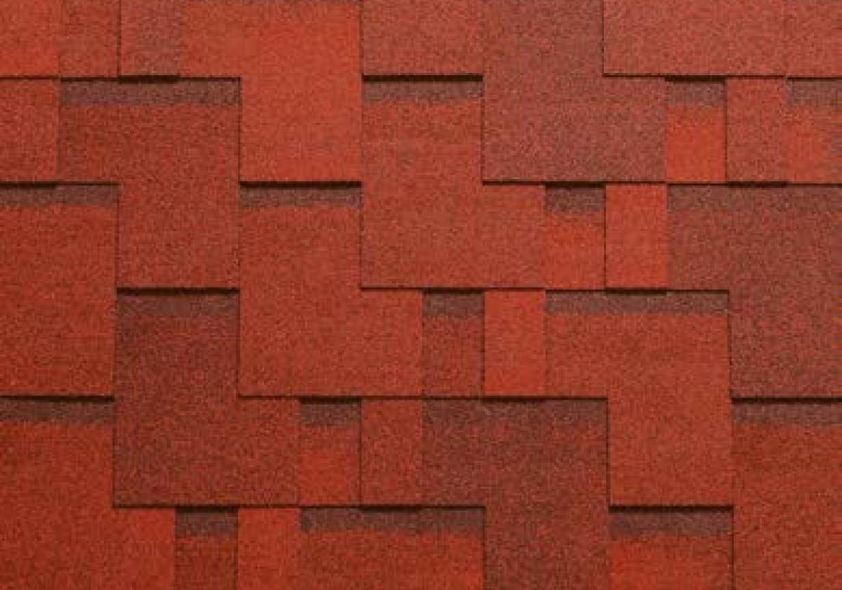 czerwone gonty bitumiczne bardoline