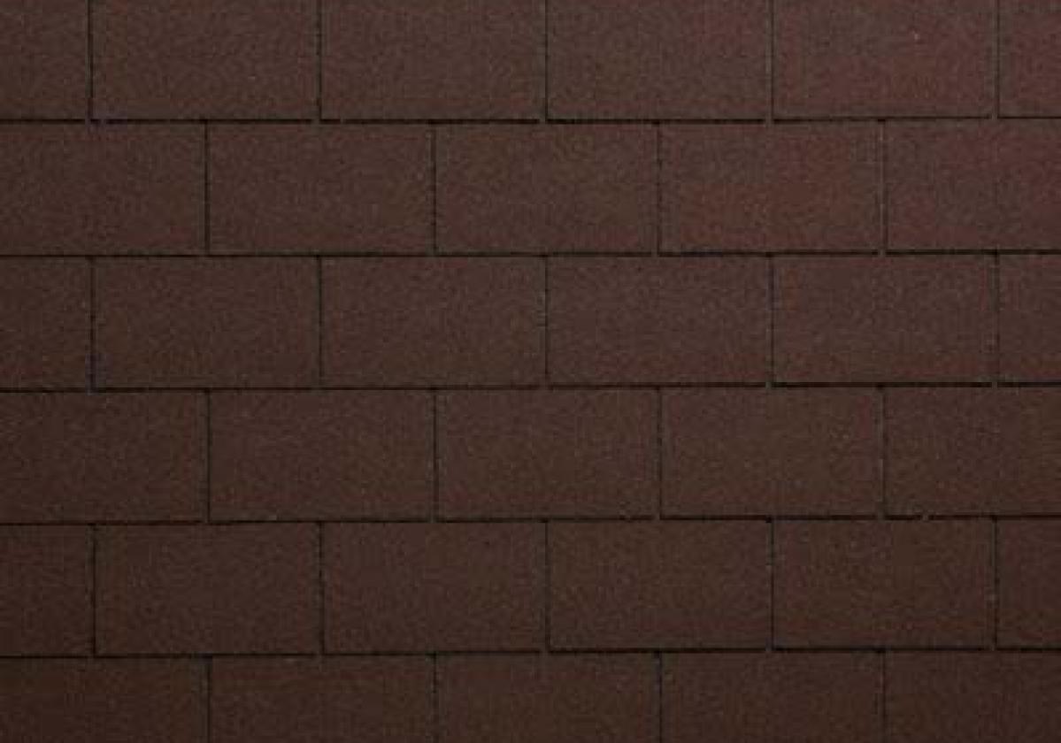 brązowe prostokątne gonty dachowe onduline