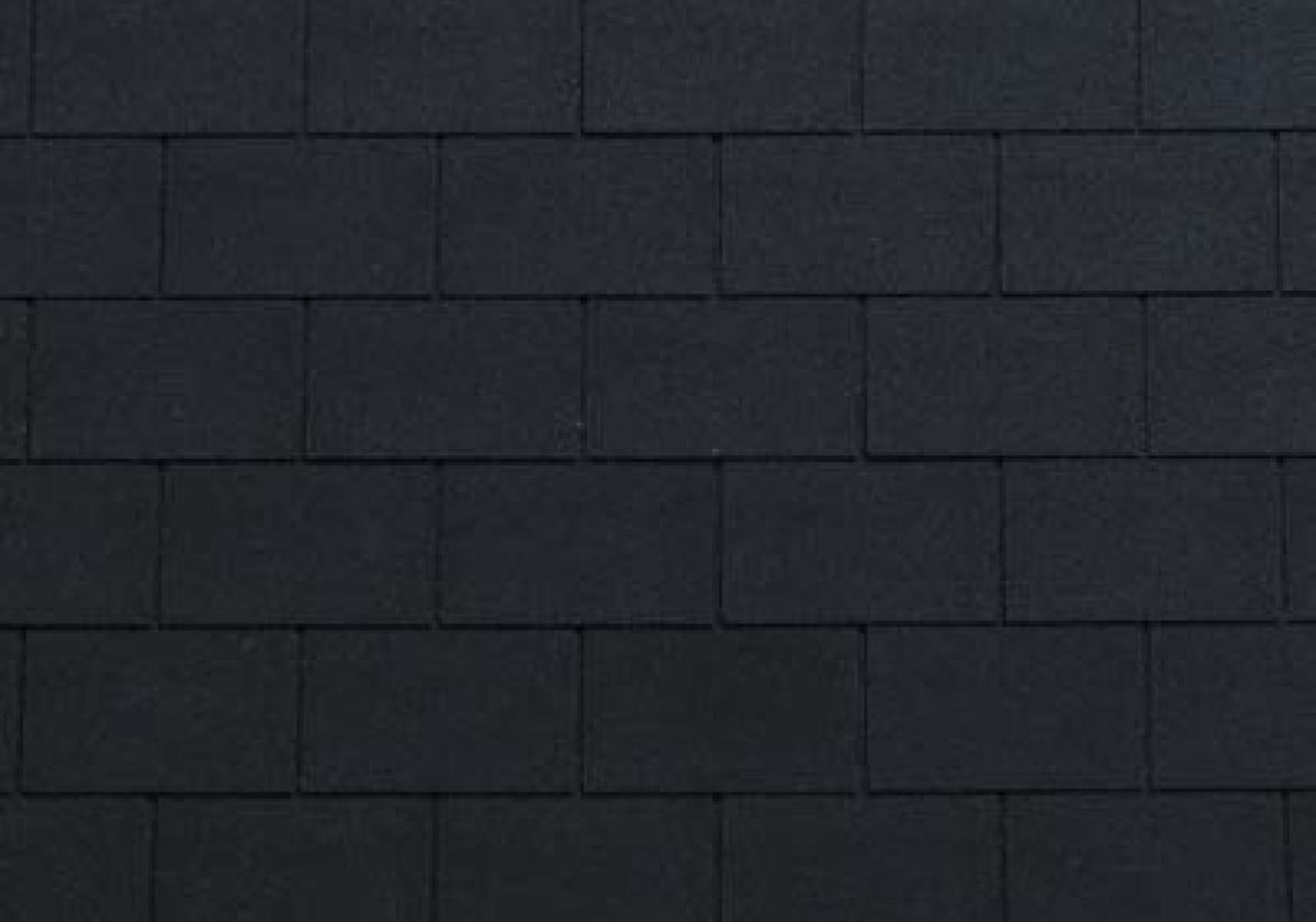 czarne prostokątne gonty bitumiczne