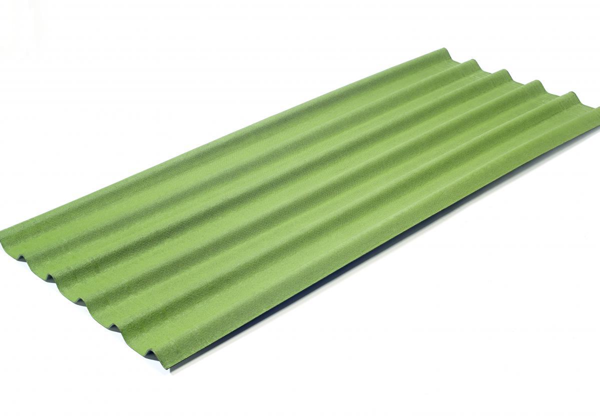 zielona pokrycie dachowe ONDULINE EASYFIX