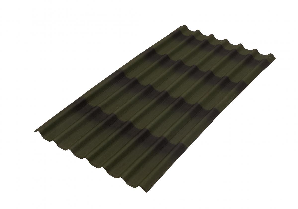 zielona płyta bitumiczna onduline tile