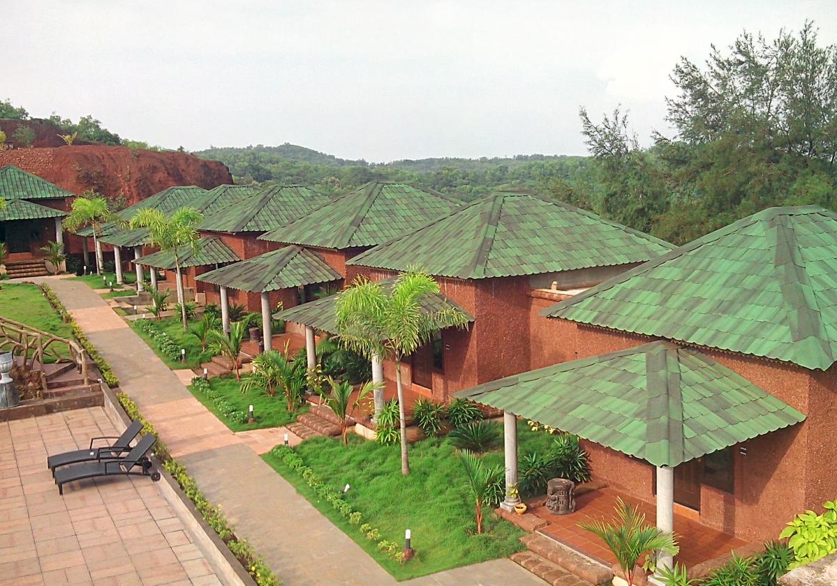 Zielona płyta dachowa Onduvilla realizacje