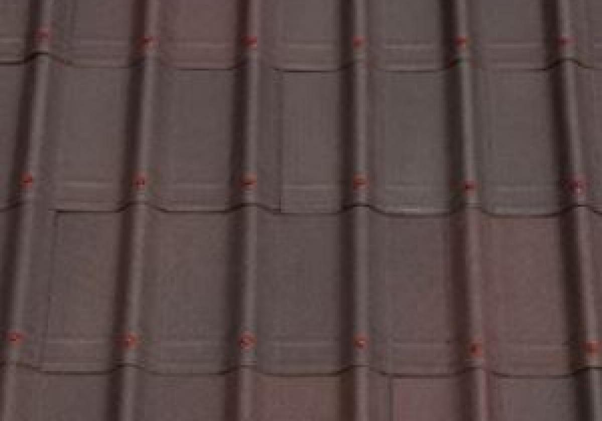 Brązowa płyta dachowa