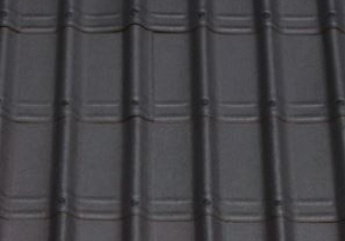 Czarna płyta dachowa