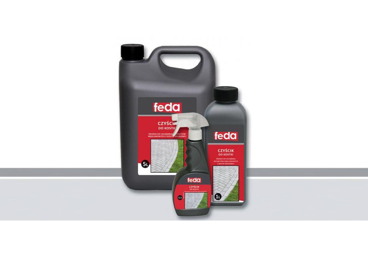 środek do czyszczenia kostki brukowej FEDA