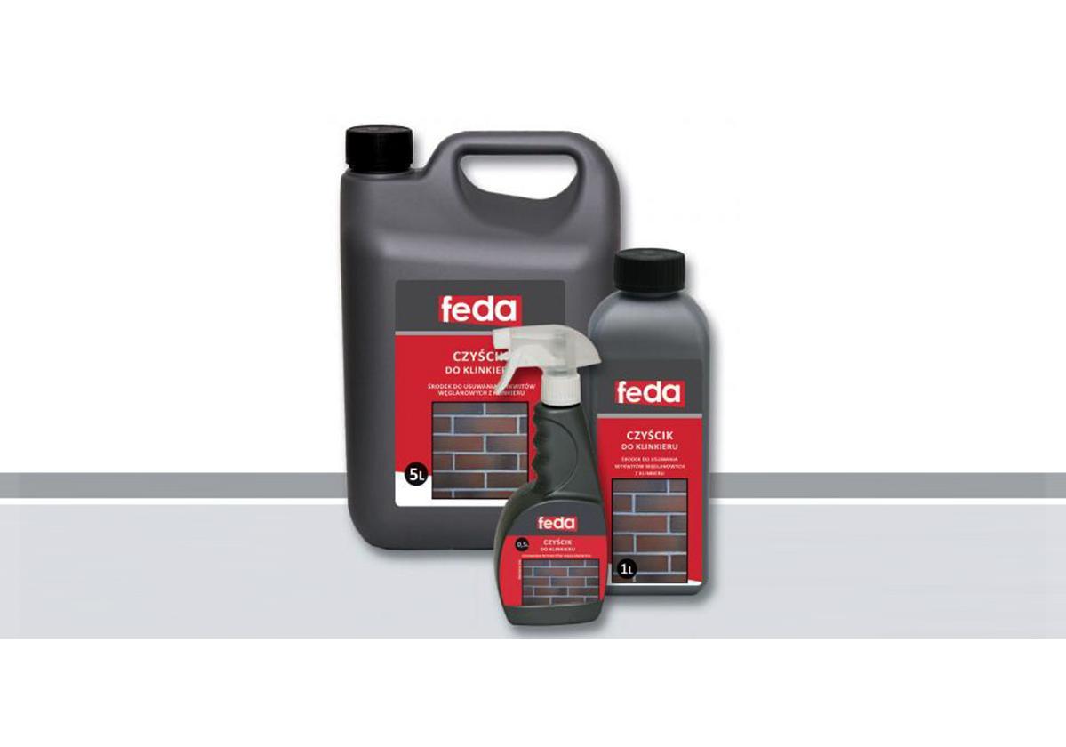 Środek do czyszczenia klienkieru FEDA