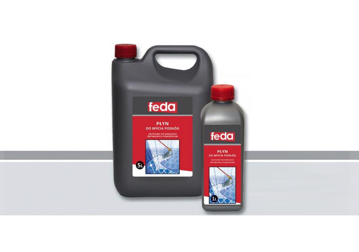 Czyścik do podłóg z terakoty, płytek ceramicznych i glazury FEDA