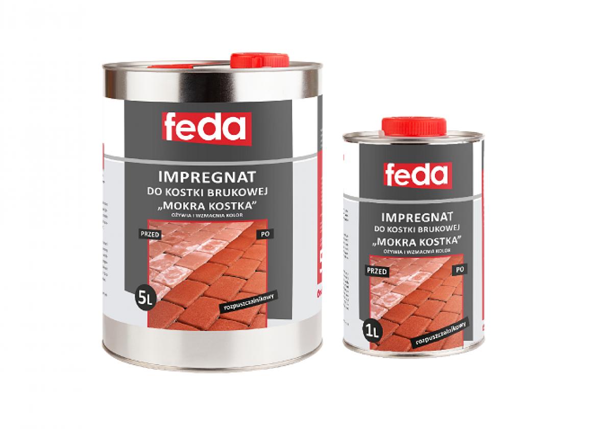 Rozpuszczalnikowy impregnat do kostki brukowej FEDA