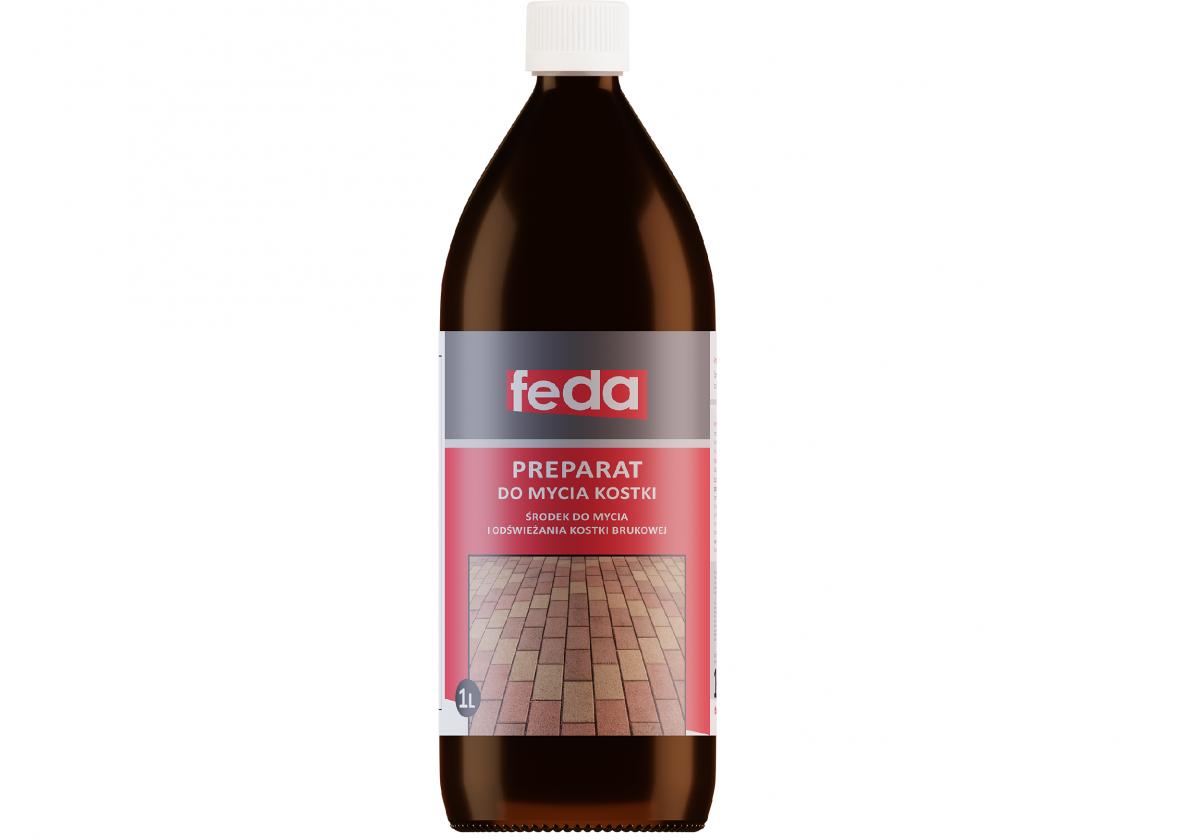 Preparat do mycia kostki brukowej FEDA