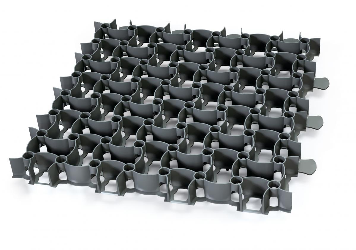 kratka parkingowa czarna