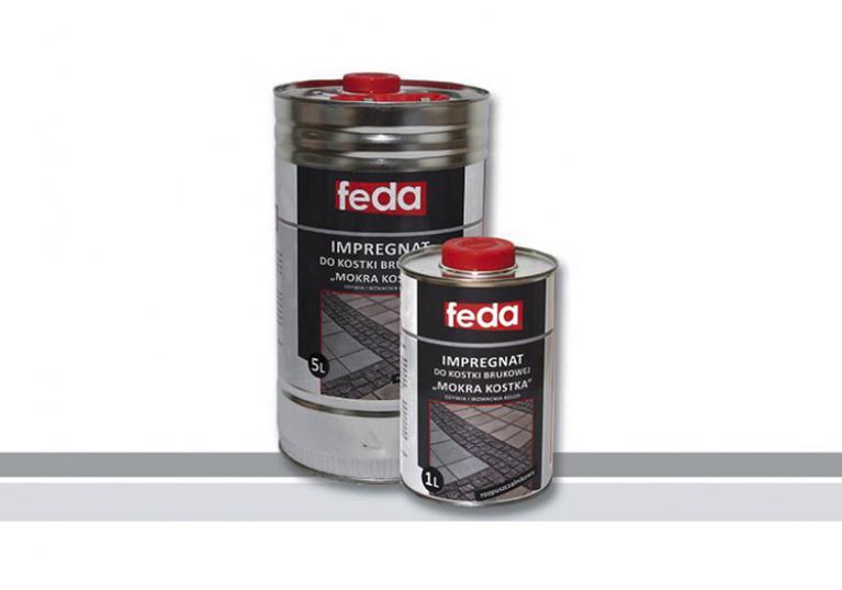 Rozpuszczalnikowy impregnat zabezpieczania kostki brukowej FEDA